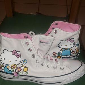 Hello Kitty Converse Allstars 10wmn8mn